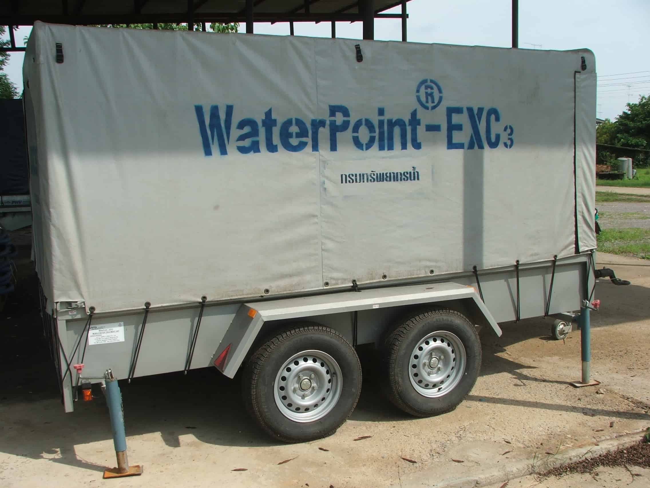 Unicef – Mobile Water Treatment System, Thailand